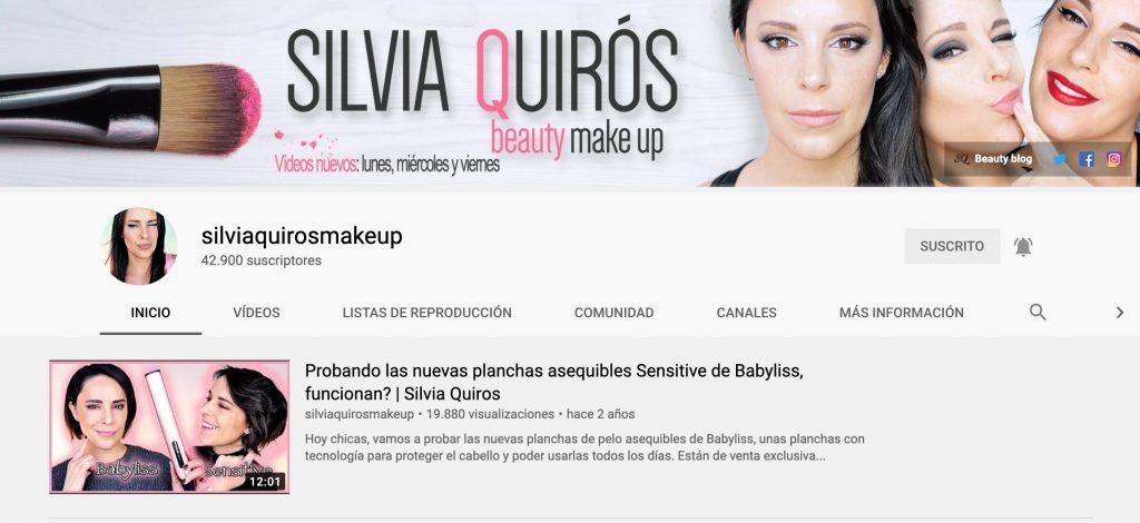 Silvia Quirós Makeup