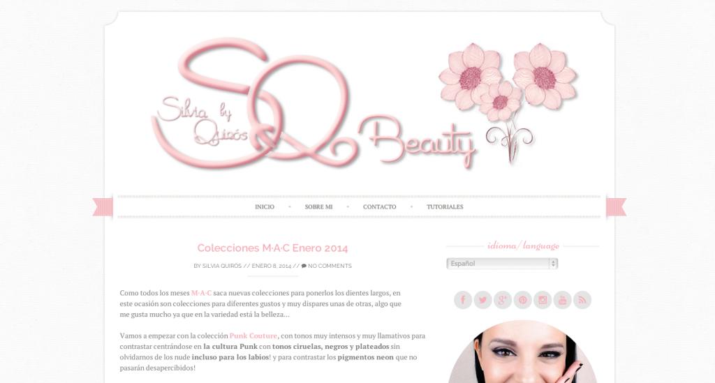 SQ beauty, blog de belleza Silvia Quiros, Beauty blog