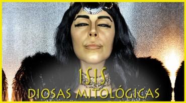 Diosas Mitológicas Isis Egipcia