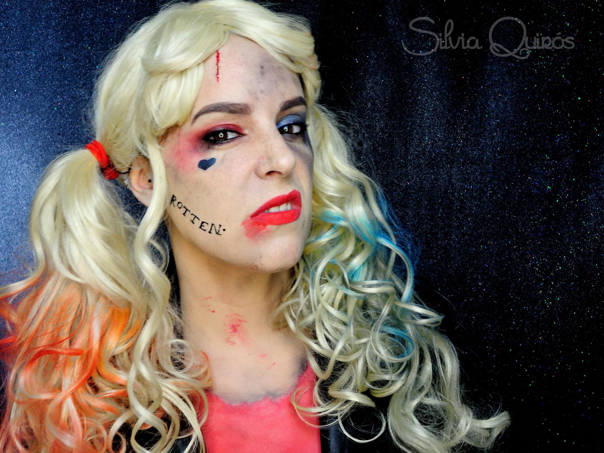 Harley Quinn Makeup Tutorial - Mugeek Vidalondon