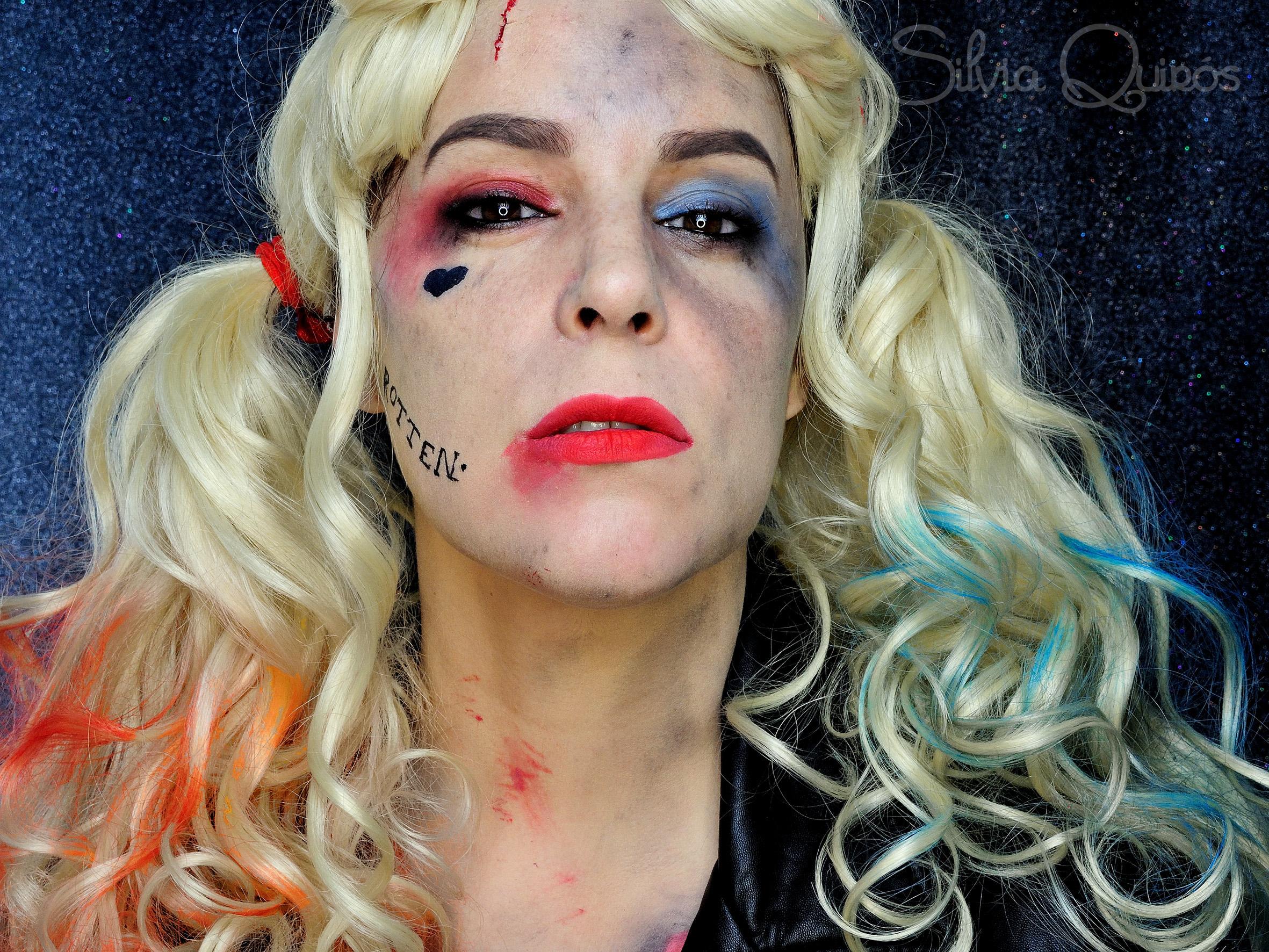 Harley Quinn makeup tutorial Harley Quinn makeup tutorial