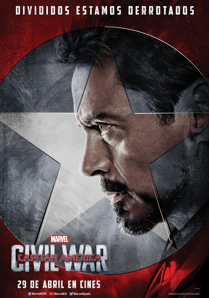 Capital America Civil War nueva generación de combate
