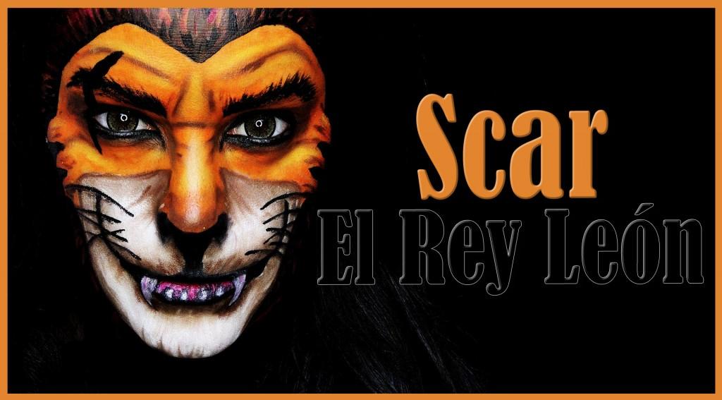 Scar lion king makeup