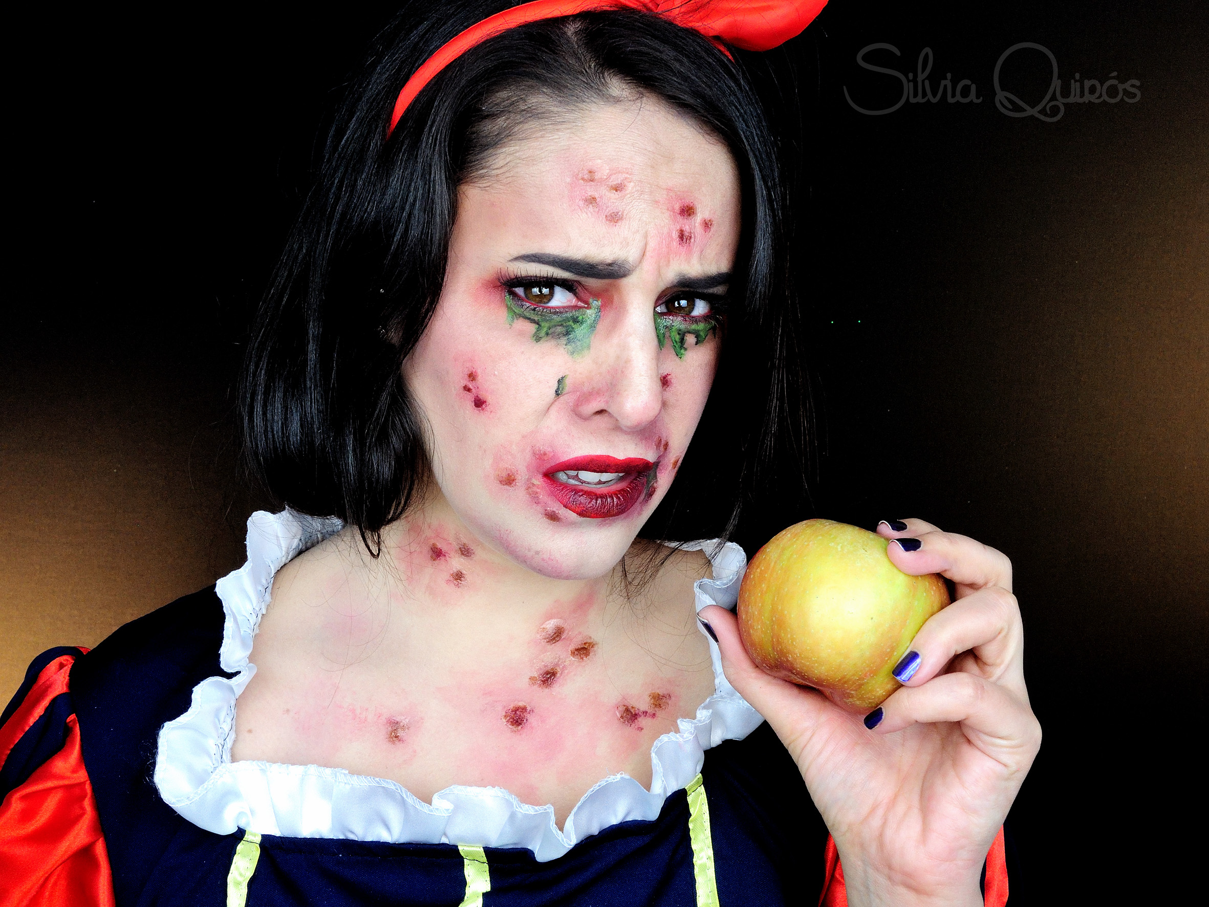 Poisoned snow white special effects makeup tutorial silvia quirs poisoned snow white special effects makeup tutorial poisoned snow white special effects makeup tutorial baditri Choice Image