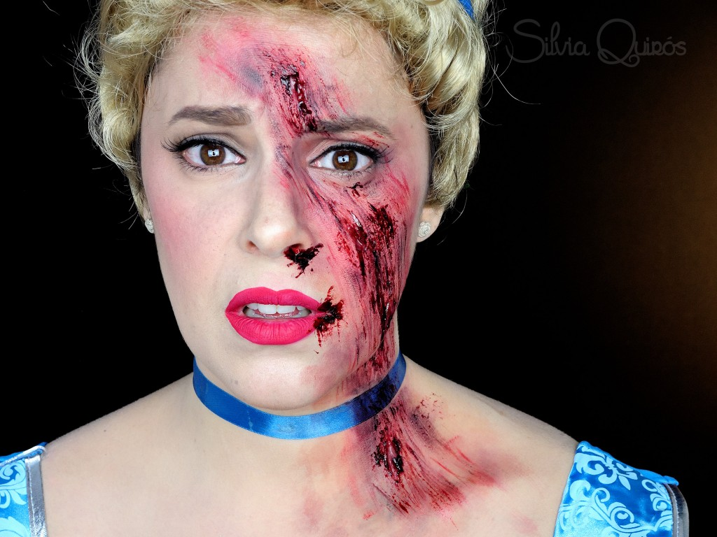 Scraped Cinderella Special Effects Makeup Silvia Quir 243 S