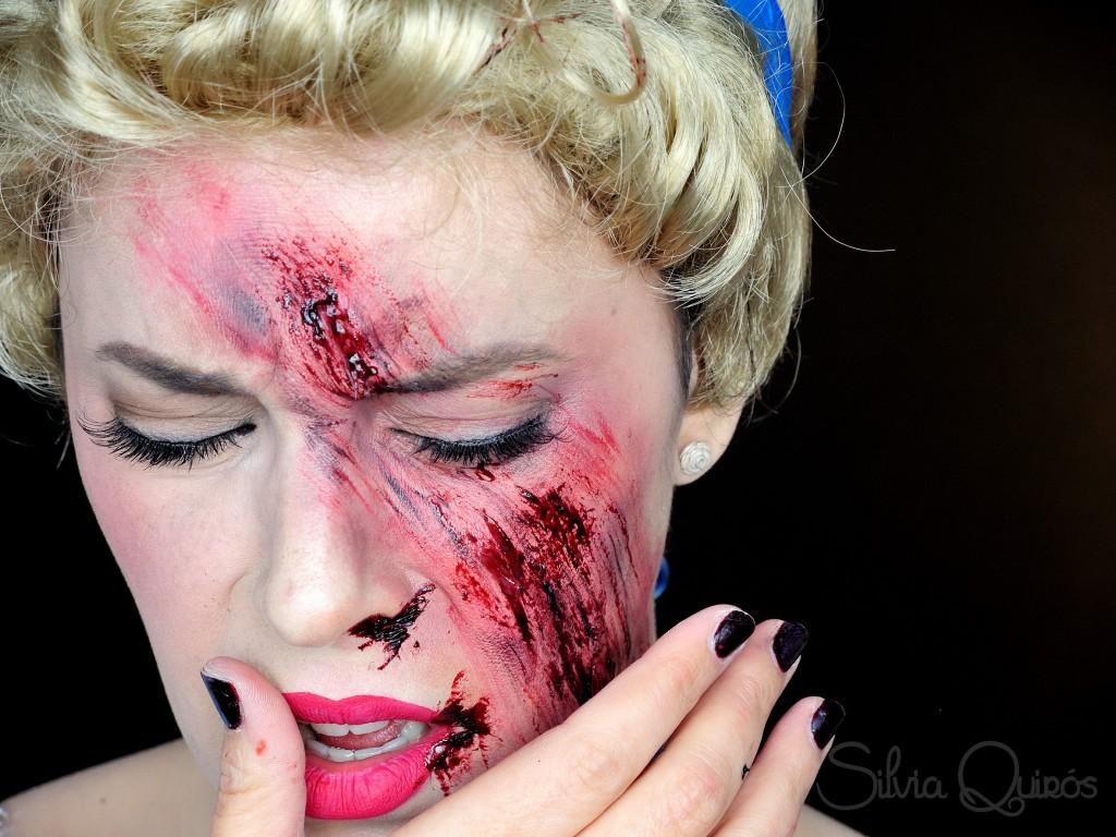 Cenicienta raspada maquillaje efectos especiales