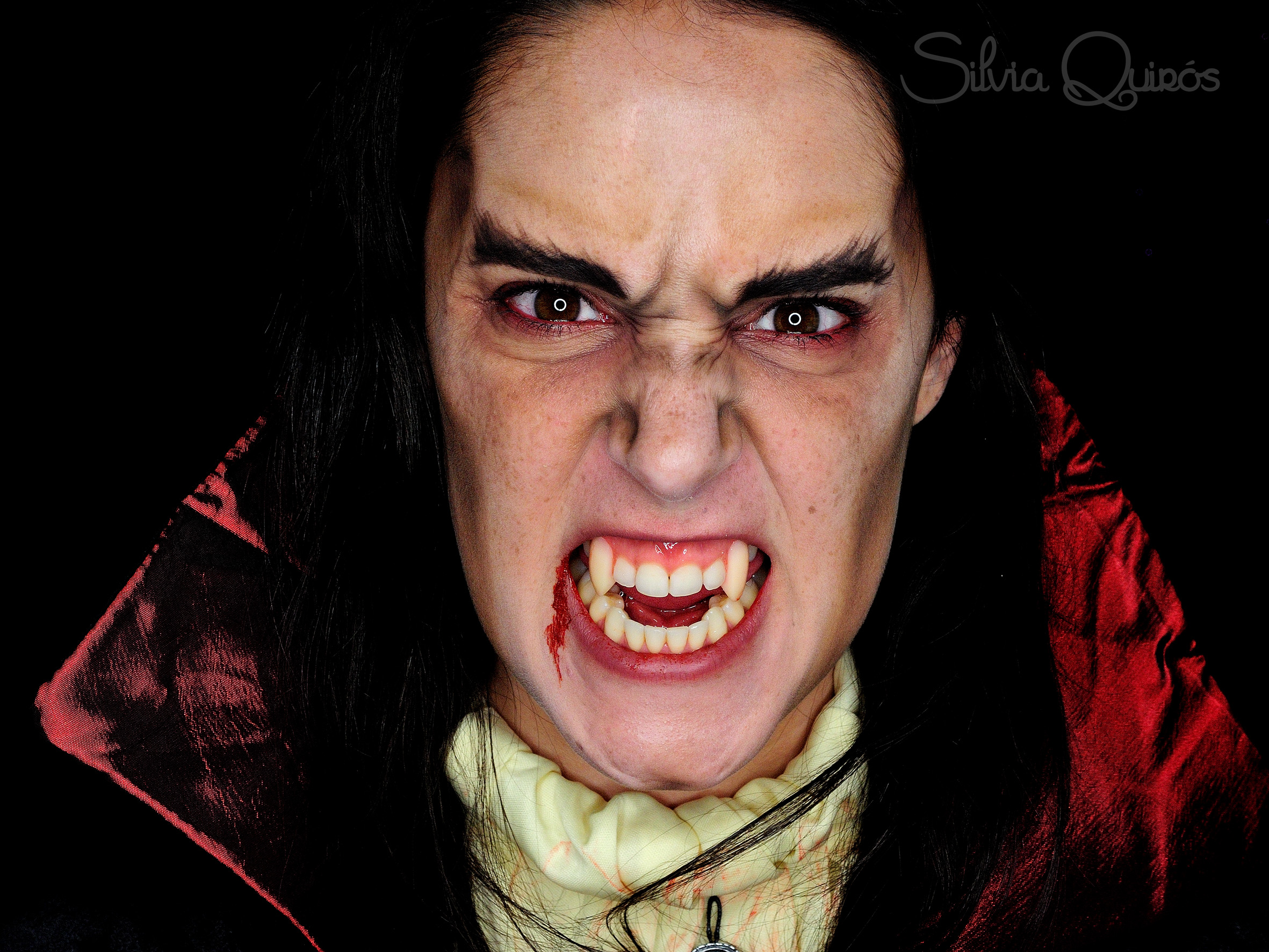 Vampire makeup for kids and adults