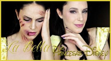 Bella de la Bella y la Bestia golpeada tutorial efectos especiales