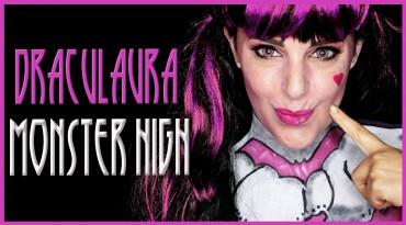Draculaura de Monster High maquillaje