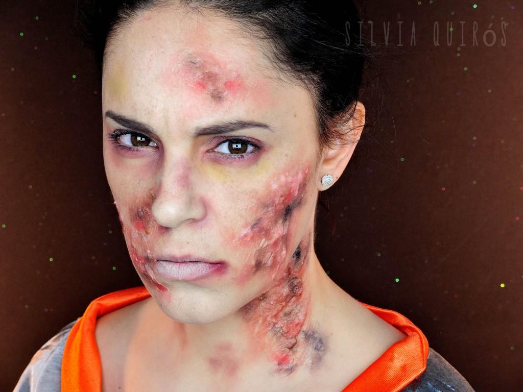 Mulán soldado quemada tutorial efectos especiales