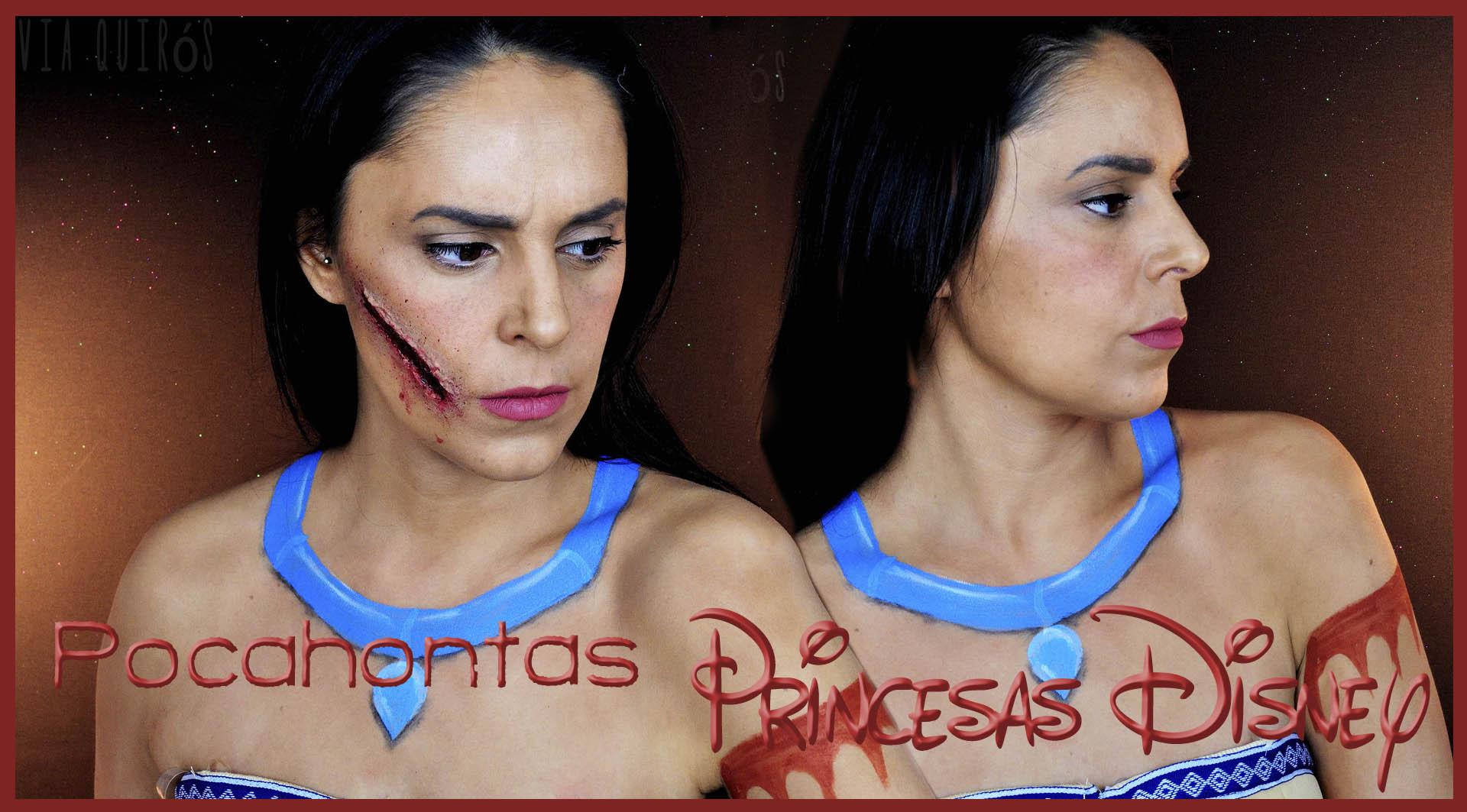 Pocahontas con rasgado de bala efectos especiales