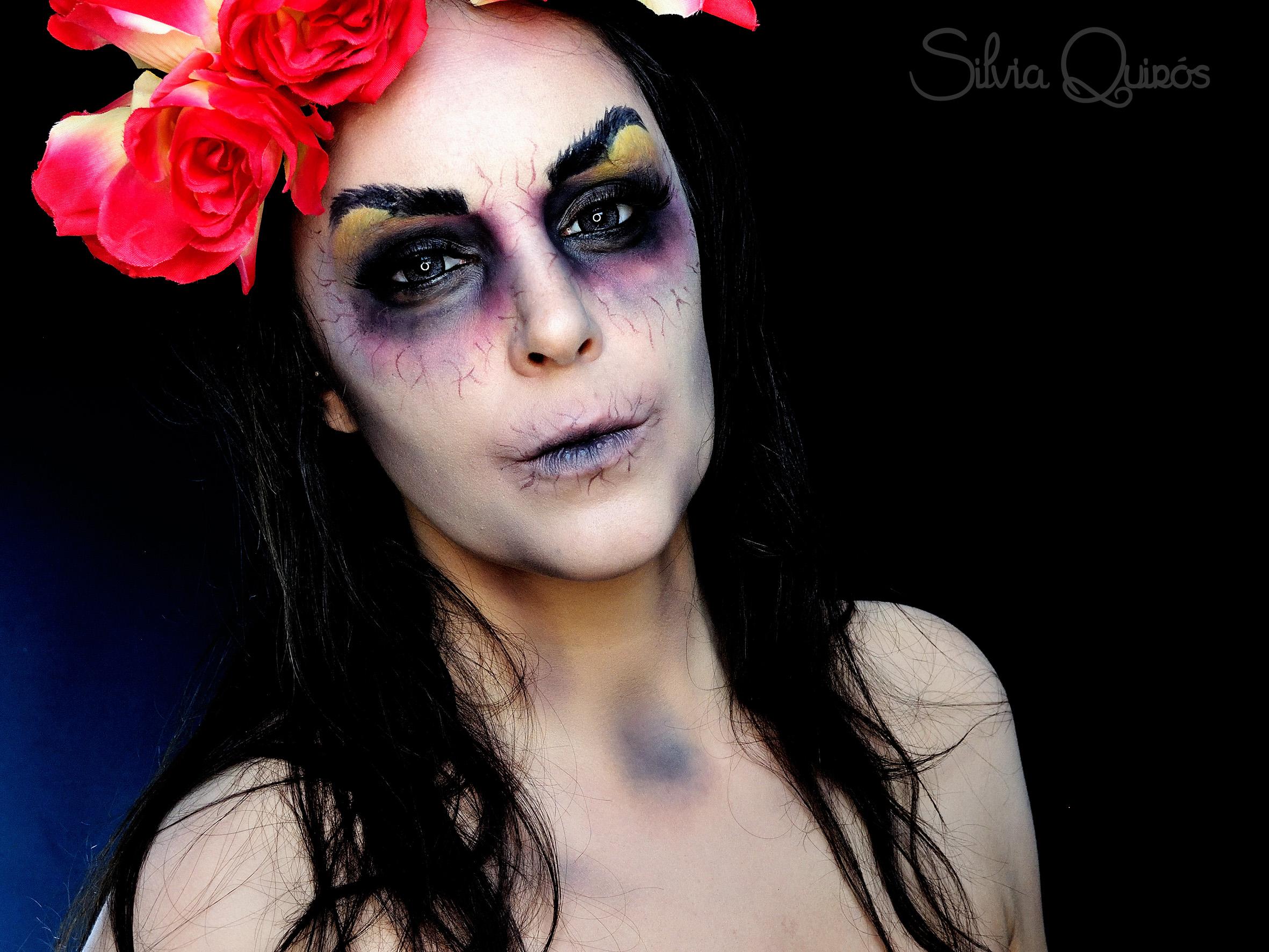 queen of darkness makeup