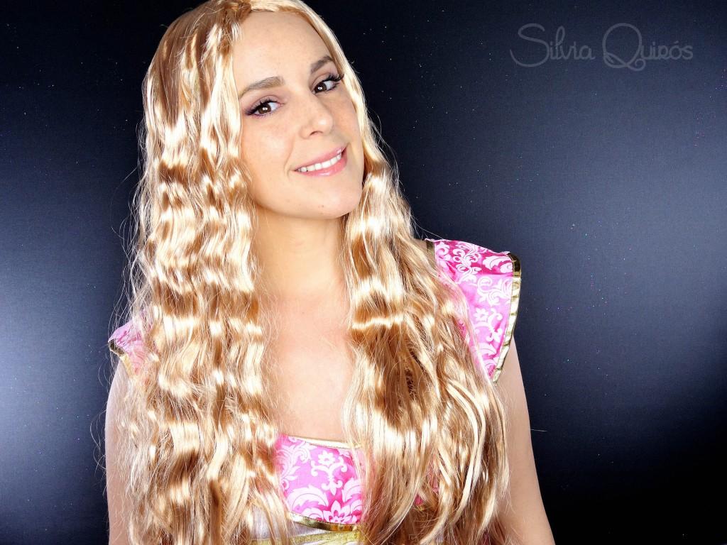 Rapunzel semi estrangulada efectos especiales