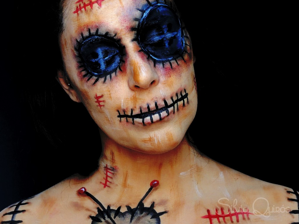 voodoo doll makeup tutorial silvia quir243s