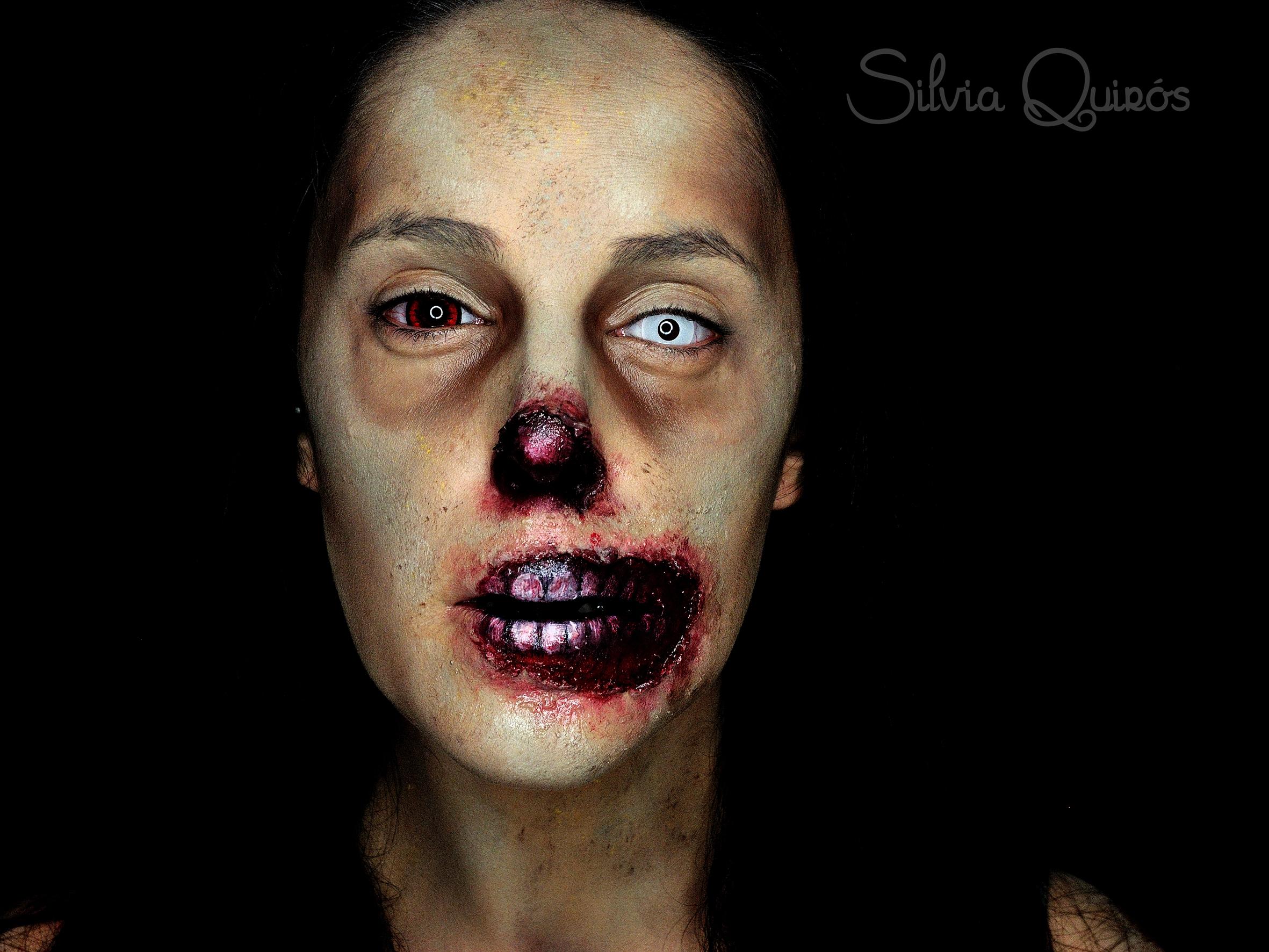Maquillaje Zombie Sin Nariz Silvia Quir