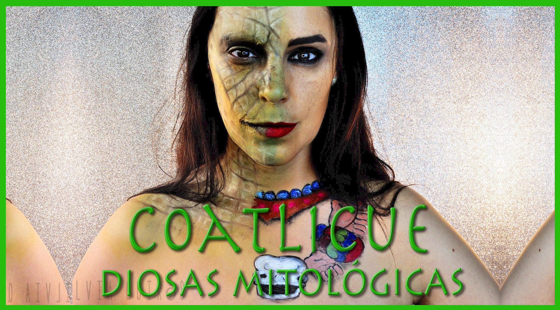 Diosas Mitológicas Coatlicue Maquillaje efectos especiales