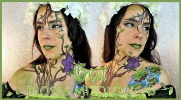 Diosas Mitológicas Gea Maquillaje efectos especiales
