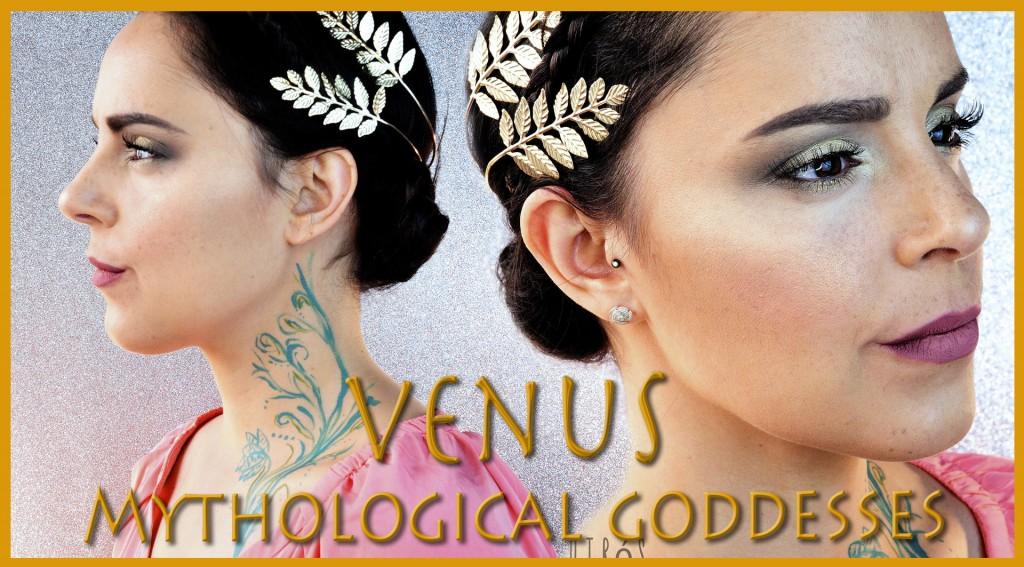 Mythological Goddesses Venus special effects makeup