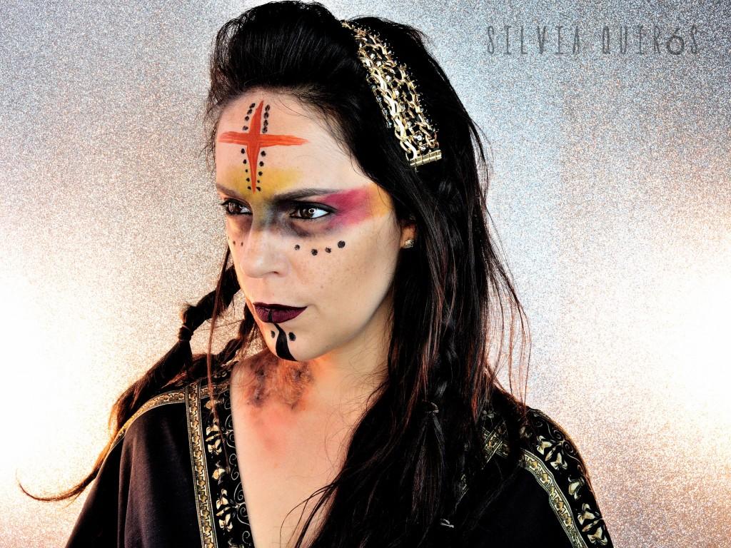 Diosas Mitológicas Gullveig Maquillaje efectos especiales