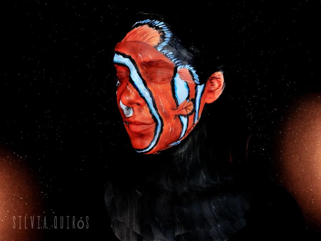 Tutorial maquillaje Nemo de Finding Nemo