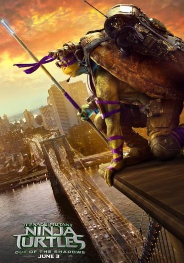 Las Tortugas Ninja, acción y efectos especiales para una historia para niños