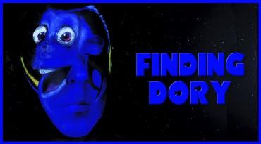 Tutorial maquillaje Dory de Finding Dory