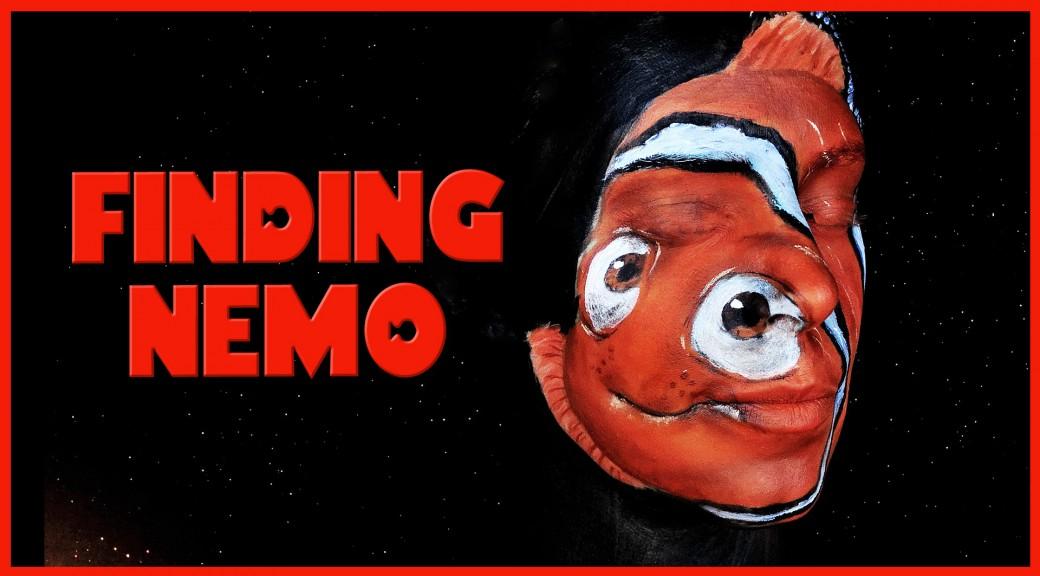 Nemo from Finding Nemo makeup tutorial