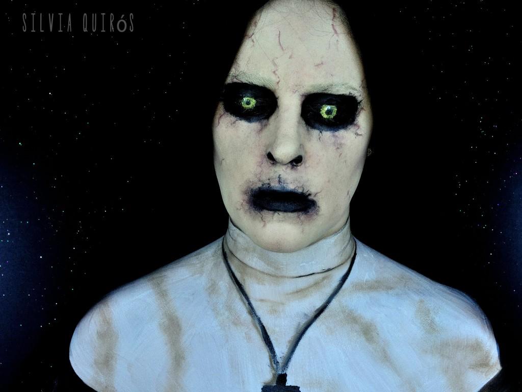 Tutorial Maquillaje Monja de El Conjuro 2