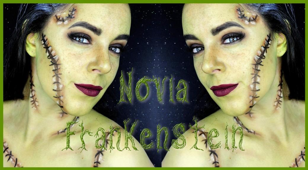 Tutorial maquillaje Novia Frankenstein