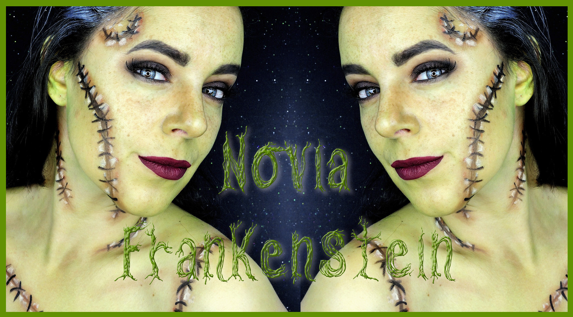 Bride of frankenstein makeup