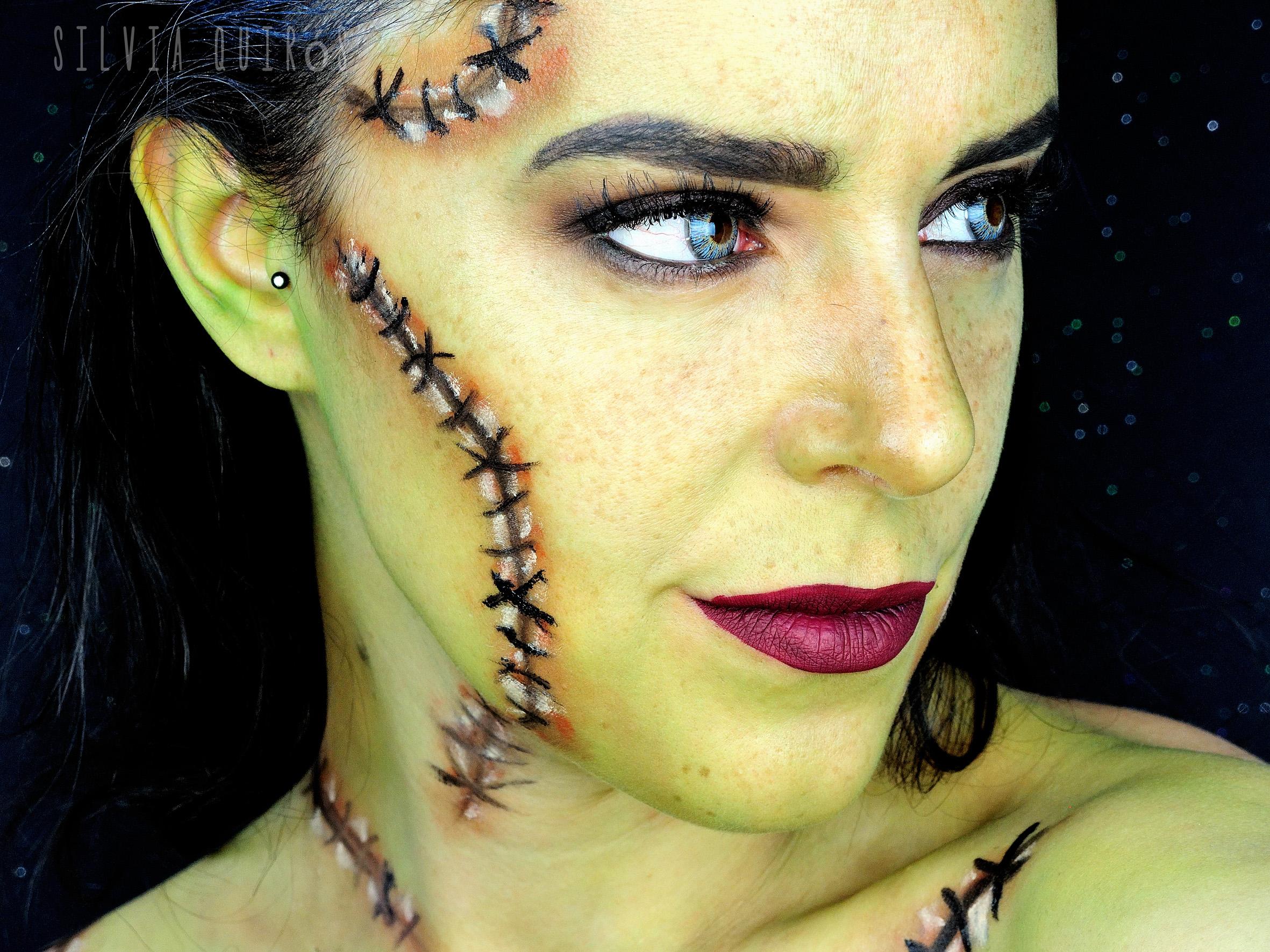 Tutorial Maquillaje Novia Frankenstein Silvia Quir 243 S
