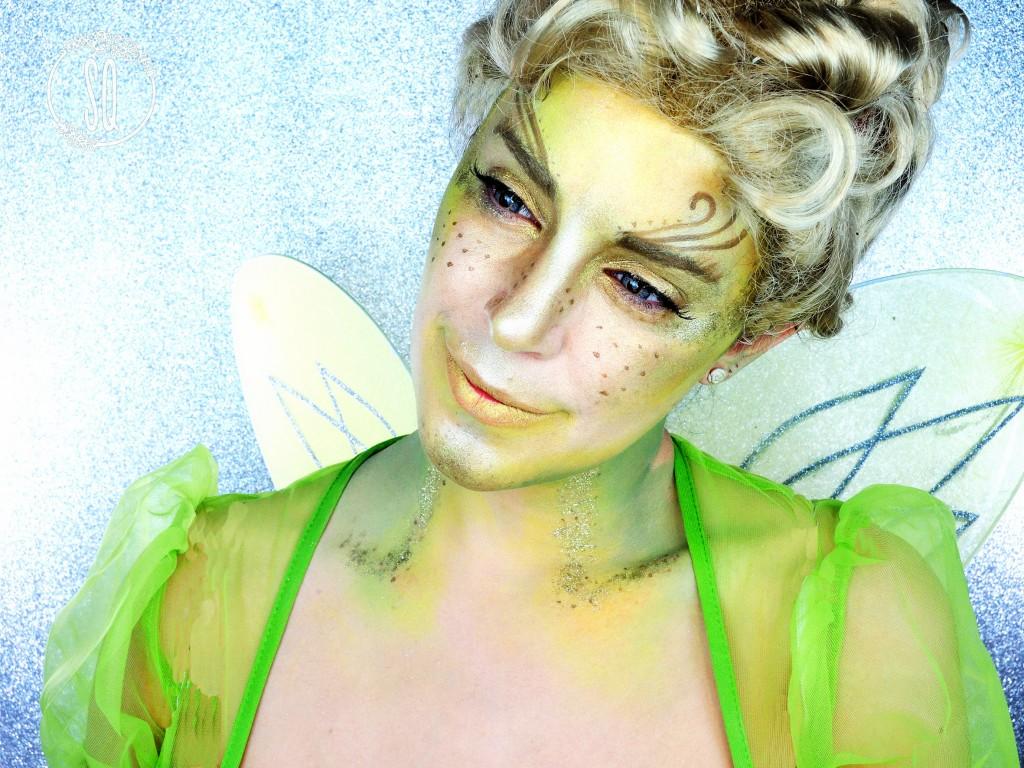Campanilla, personaje de cuentos #2 maquillaje Fantasía