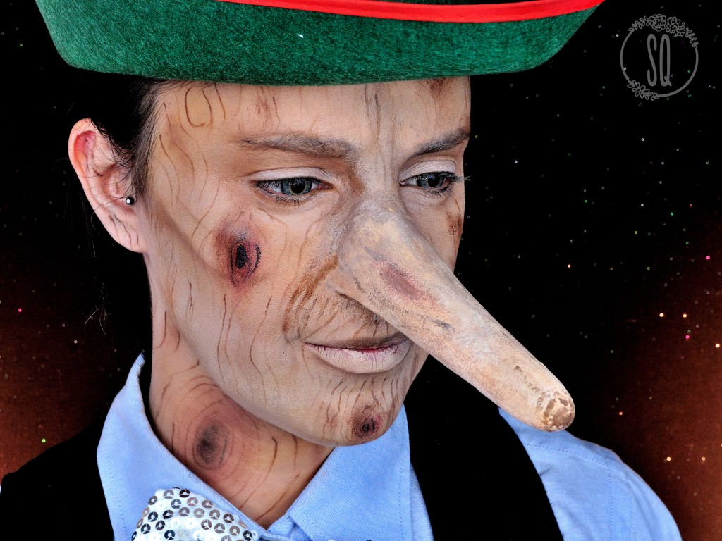 Pinocho, personaje de cuentos #3 maquillaje Fantasía
