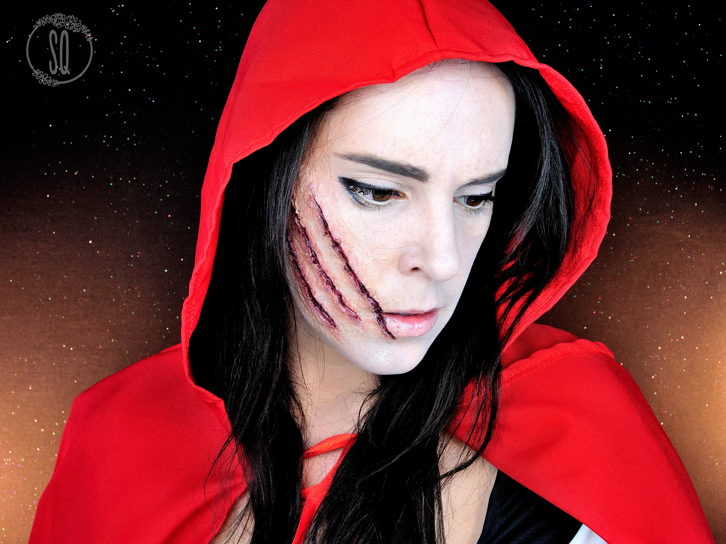 Little red riding hood makeup
