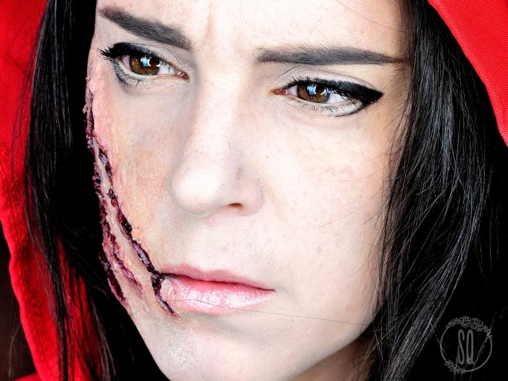 Caperucita Roja, personaje de cuentos #1 maquillaje FX