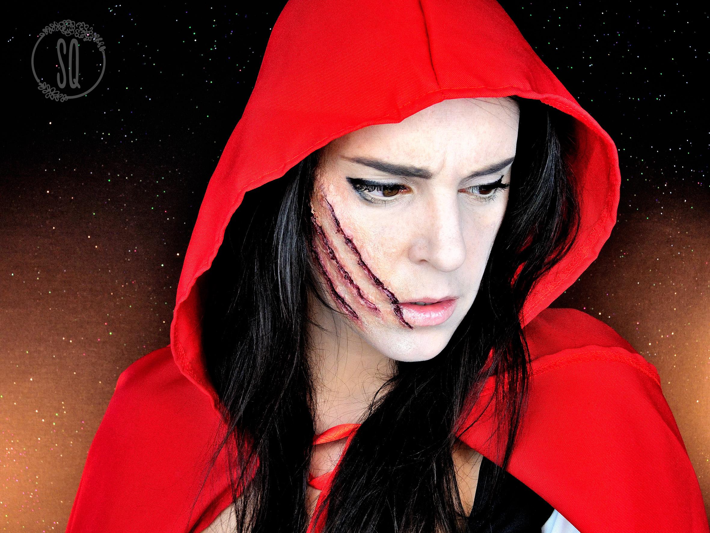 Caperucita Roja Halloween.Caperucita Roja Personaje De Cuentos 1 Maquillaje Fx
