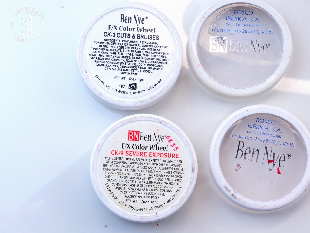 Ben Nye Cream Colors