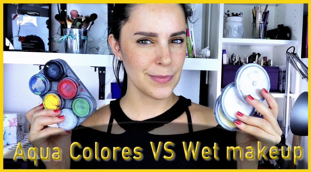 Diferencia entre los Aqua colors y los Wet Makeup