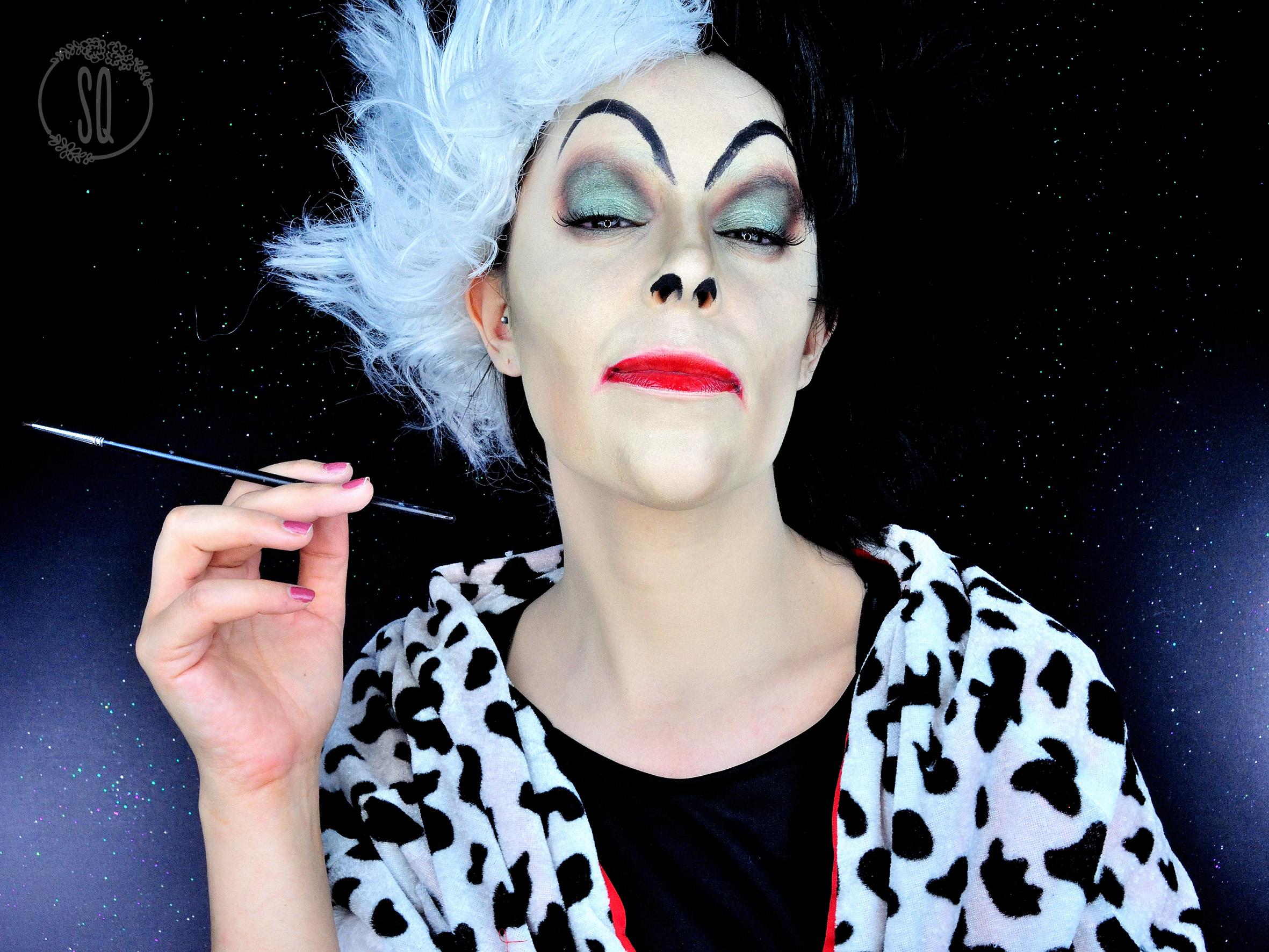 Cruella De Vil Fairy Tale Characters 5 Fantasy Makeup