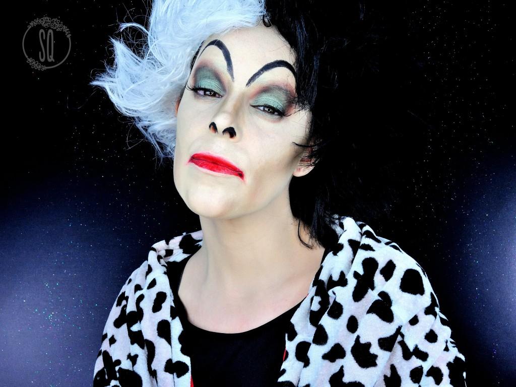 Cruella de Vil, personaje de cuentos #5 maquillaje Fantasía