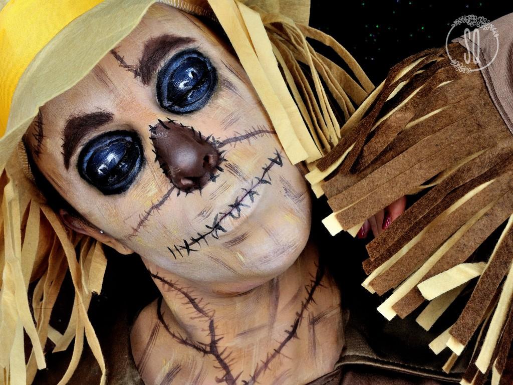 Espantapájaros, personaje de cuentos #4 maquillaje Fantasía