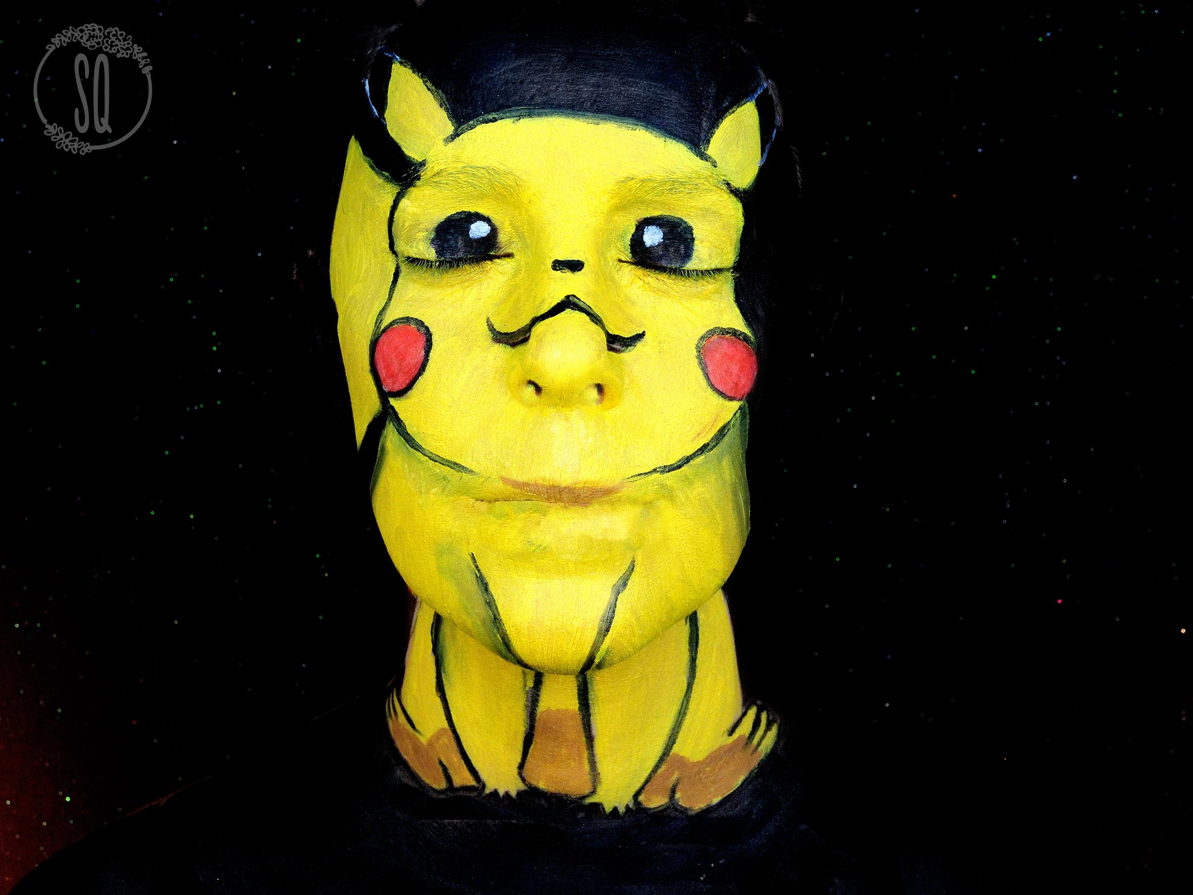 Pikachu face paint makeup tutorial silvia quirs pikachu face paint makeup tutorial baditri Choice Image