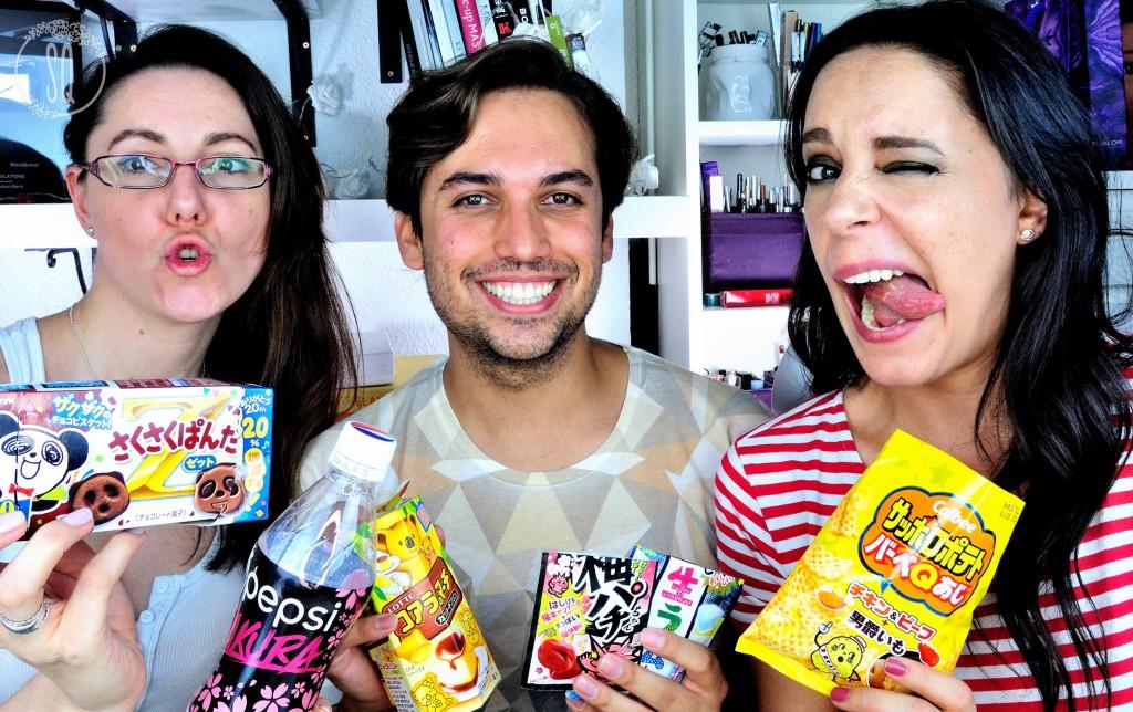 Unboxing Tokyo Treat Julio con mi hermana y Carlos Arnelas
