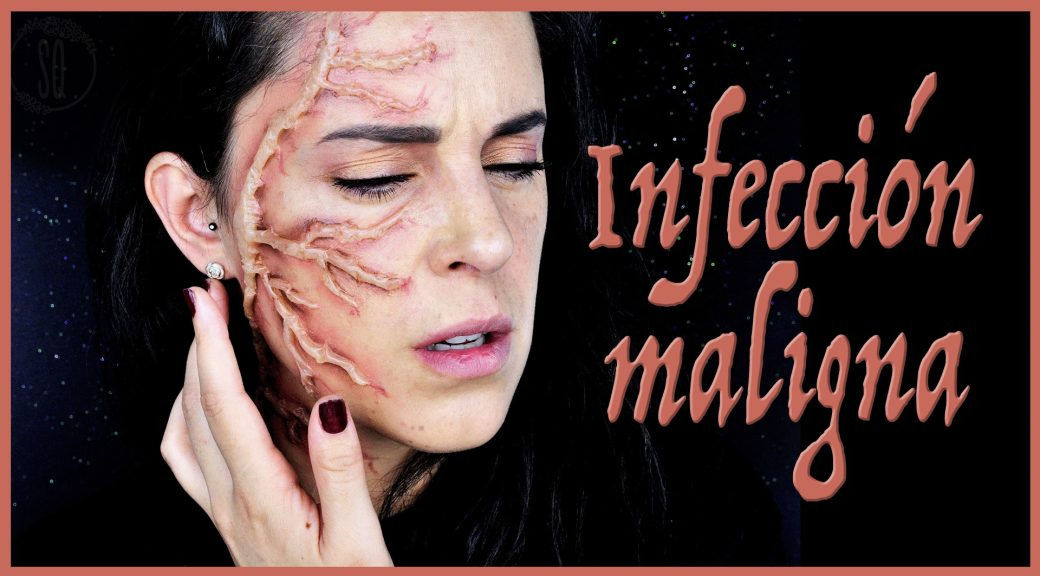 Tutorial efecto infección maligna  para Halloween