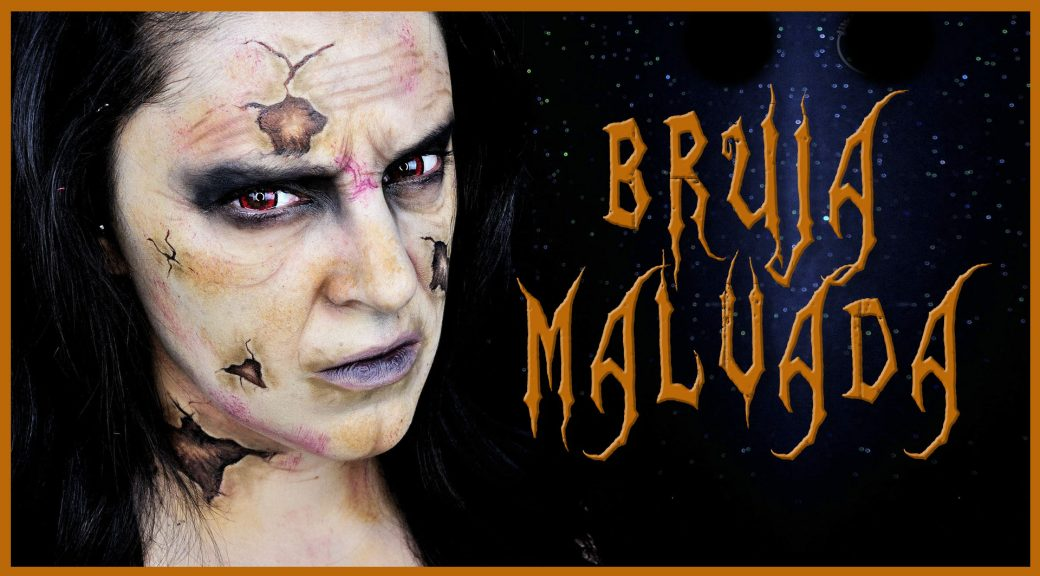 Tutorial maquillaje Bruja vieja malvada para Halloween