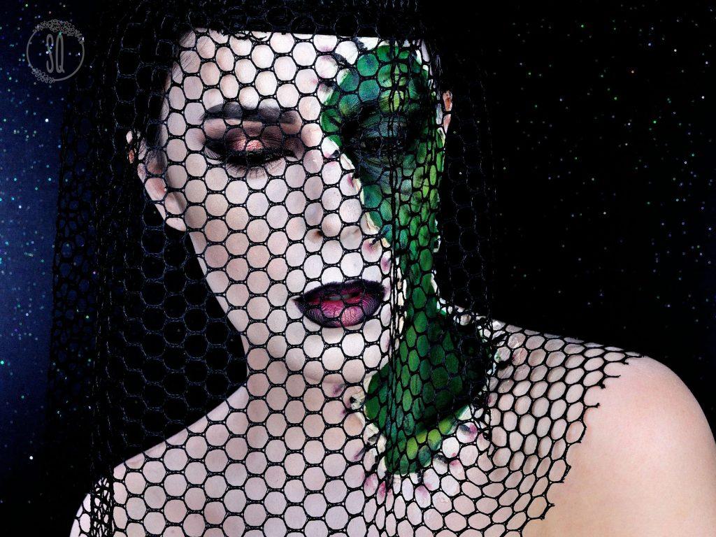 FX makeup tutorial Black Witch