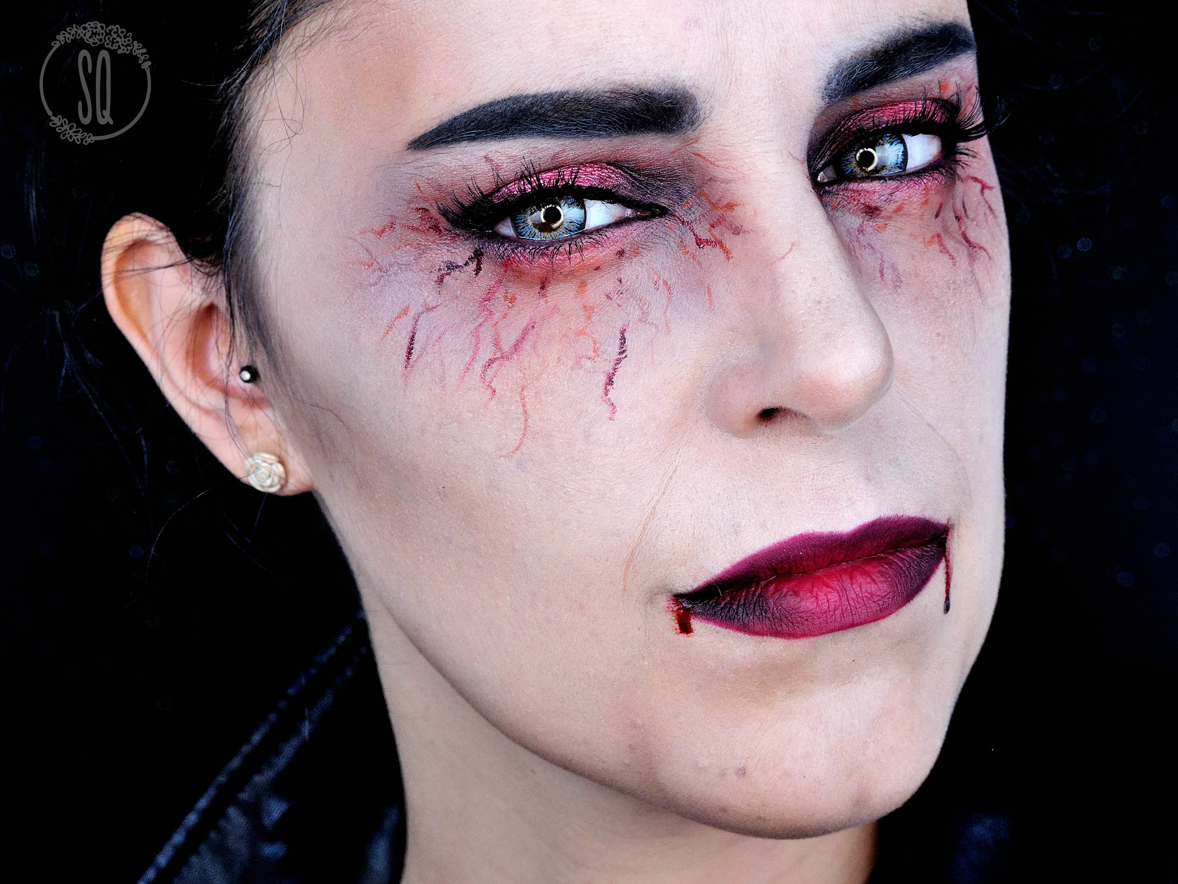Terrifying and glam vampire makeup tutorial silvia quirs terrifying and glam vampire makeup tutorial terrifying and glam vampire makeup tutorial baditri Image collections