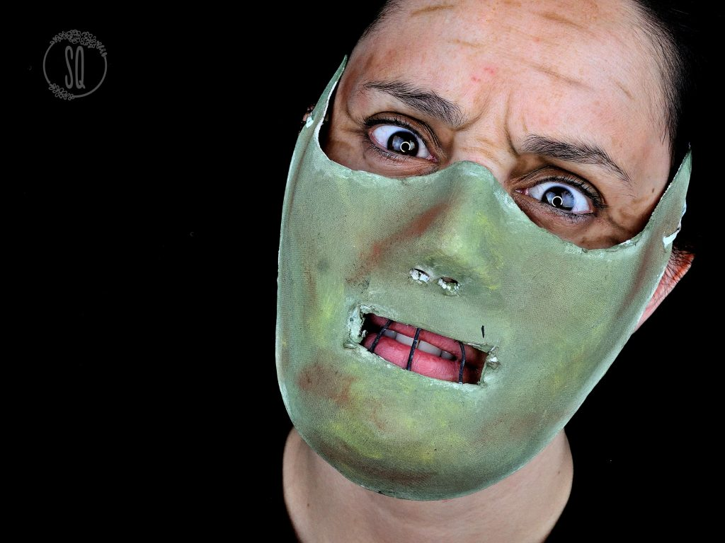 Tutorial Maquillaje y máscara de Hannibal Lecter para Halloween