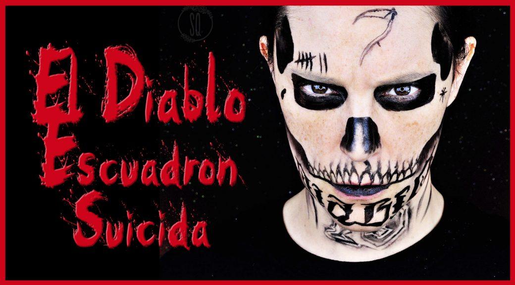 Maquillaje El Diablo del Escuadrón Suicida para Halloween