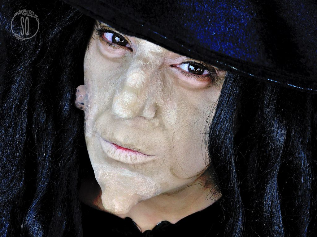 Tutorial maquillaje Bruja malvada con prótesis caseras
